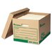 Recycled Record Storage Box, 4/Carton
