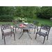 Capitol Tulip 5 Piece Dining Set