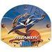 NBA 13&quot; High Def Plaque Clock