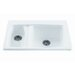 Advantage Double Bowl Kitchen Sink