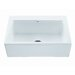 "33"" x 22.25"" McCoy Single Bowl Kitchen Sink with Embossed Front Panel"