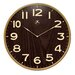Arbor Wall Clock with Dark Woodgrained Dial