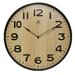 Arbor Wall Clock with Light Woodgrained Dial