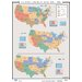 U.S. History Wall Maps - Population Change 1950-94