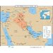 World History Wall Maps - The Persian Gulf War 1991