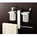 Bridge Wall Mounted Bathroom Butler in Chrome