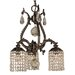 Faustina 3 Light Dinette Chandelier