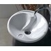 "Ceramica 22"" x 17.7"" Vessel Sink in White"