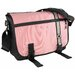 Retro Stripe Messenger Diaper Bag