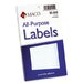 Multipurpose Self-Adhesive Removable Labels, 40/Pack