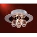 Bolero 3 Light Semi Flush Mount