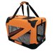 Zippered 360° Vista View Pet Carrier in Orange