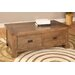 Brooklyn Two Drawer Coffee Table in Rich Patina