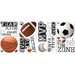All Star Sports Saying Peel and Stick Wall Decal