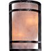 Wall Sconce with Painted Restoration Bronze Finish - Energy Star