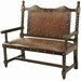 Colonial Solomon Wooden Bench