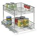 "Glidez 14.5"" Two Tier Sliding Organizer KD"