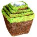 Ventura Moss Baskets (Set of 4)