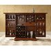 Alexandria Expandable Bar Cabinet in Classic Cherry