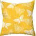Flutter Poly Cotton Throw Pillow
