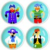 Pirates Pira Knob Set (Set of 4)