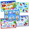 Christmas 5 Pack Personalized Placemat