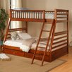 Dillard Twin over Full Bunk Bed with Storage