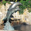 Double Dolphin Fountain