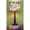 Paisley Splash in Lime Table Lamp