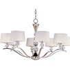 Crystal Ball 8 Light Chandelier