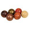 Urban Trends Ceramic Balls II (Set of 6)