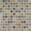 "Fashion 11.75"" x 11.75"" Glass Mosaic in Mix Fashion Beige"