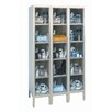 Safety-View Plus Stock Lockers - Five Tiers - 3 Sections (Unassembled)