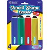 Jumbo Pencil Shape Eraser (Set of 4)