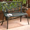 Saint Kitts Aluminum Garden Bench
