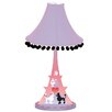 Poodles in Paris Eiffel Tower Table Lamp
