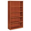 Bookcase, Five Shelves, Henna Cherry