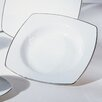 "Lotus Silver Line 6"" Bread and Butter Plate"