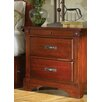 Kalispell 2 Drawer Nightstand