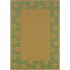 Lanai Beige/Green Palm Trees Rug