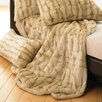 Lover Boy Luscious Fur Throw in Tawny