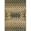 Images Calais Sea Green Checkered Rug