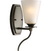 Cantata Wall Sconce in Forged Bronze