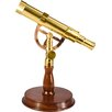 6X30 Spyscope, Anchormaster Telescopes with Mahogany Desktop Pedestal