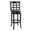 "29"" Kyoto Swivel Stool in Black"