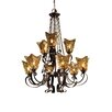 Vetraio 9 Light Chandelier