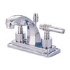 Milano Milano Bathroom Faucet with Double Lever Handles