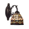 Jewelstone 1 Light Wall Sconce