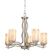 Modern Mosaic 5 Light Chandelier