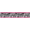 Zebra Pink Collection Wall Paper Border